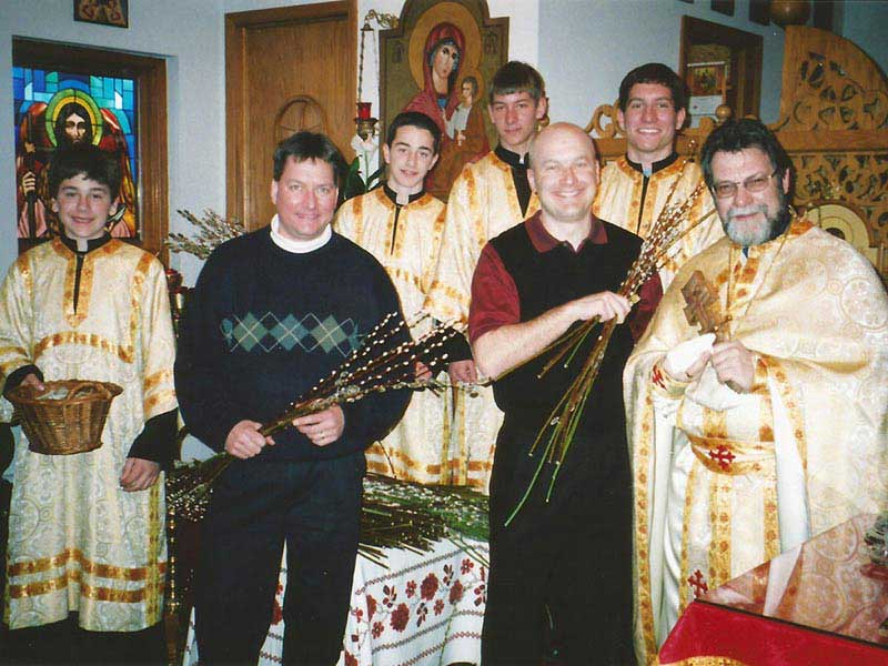 Altar Boys at Immaculate Conception Ukrainian Catholic Church