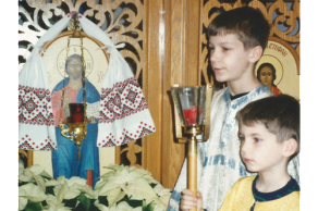 Altar Boys at IC Ukrainian Catholic Church in Palatine, IL