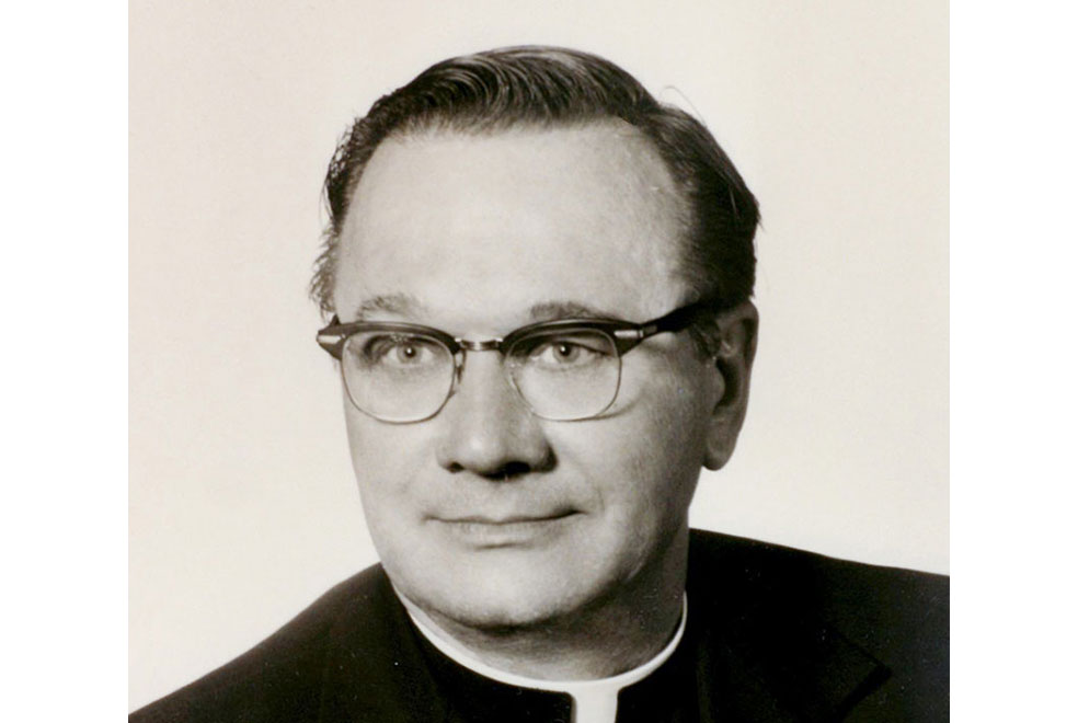 Fr Shary - founder of Immaculate Conception Church