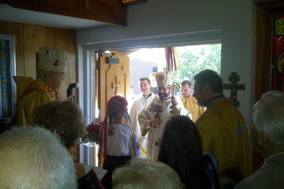 Patriarch Sviatoslav visited Immaculate Ukrainian Catholic Church in Palatine, IL