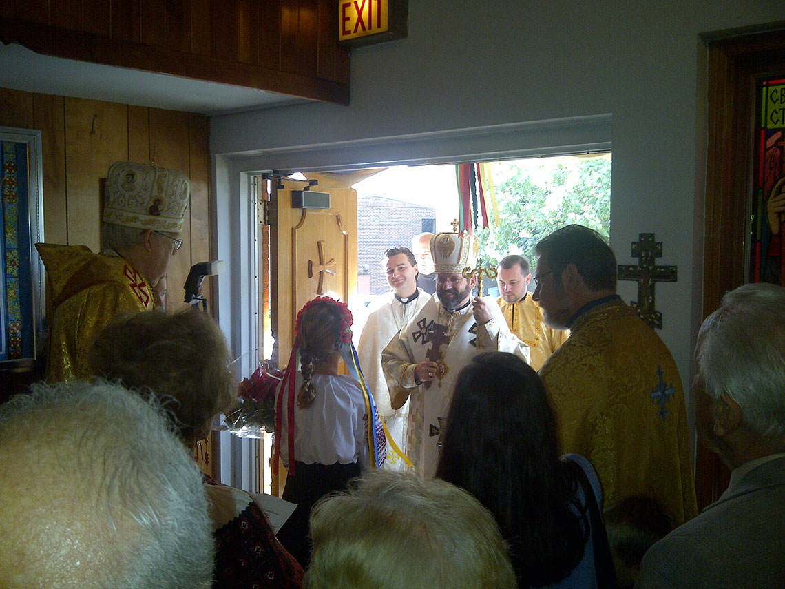 Patriarch Sviatoslav visited Immaculate Ukrainian Catholic Church in Palatine, IL