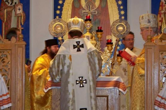 Patriarch Sviatoslav Shevchuk on Divine Liturgy at Immaculate Conception Ukrainian Catholic Church