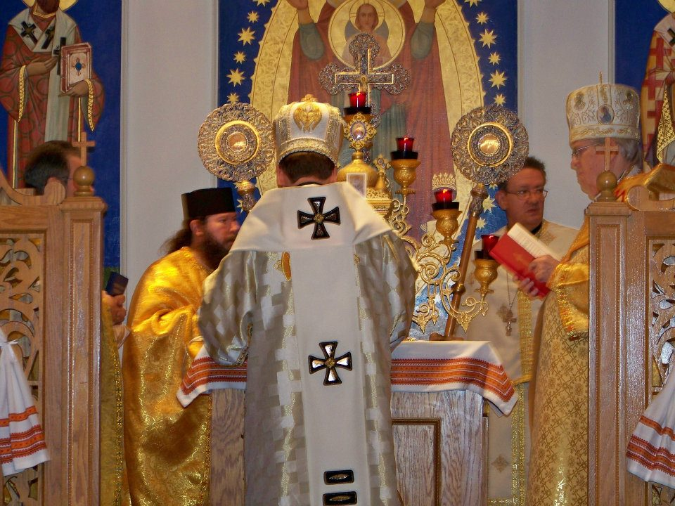 Patriarch Sviatoslav Shevchuk on Divine Liturgy at Immaculate Conception Ukrainian Catholic Church