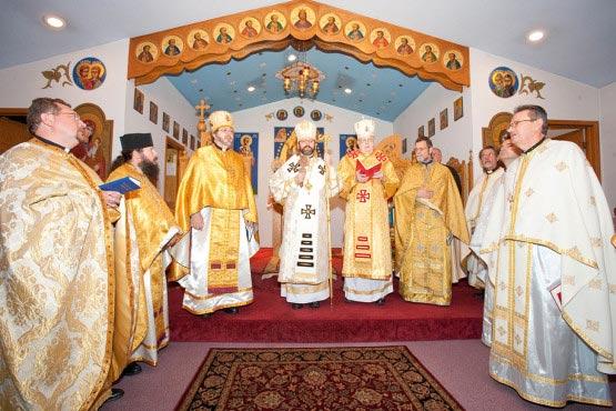 Divine Liturgy with Patriarch Sviatoslav Shevchuk at Immaculate Conception Ukrainian Catholic Church in Palatine