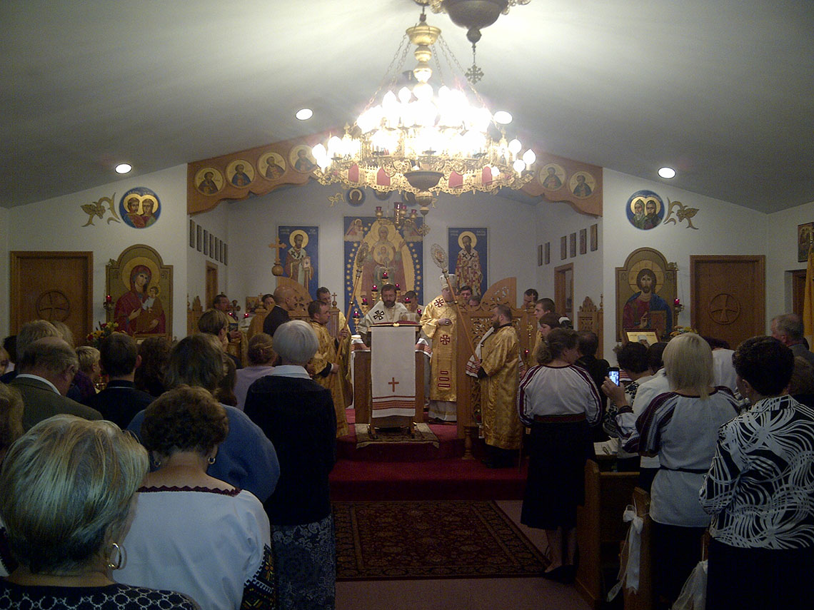 Sermon of Patriarch Sviatoslav Shevchuk in Ukrainian Immaculate Conception Catholic Church in Palatine