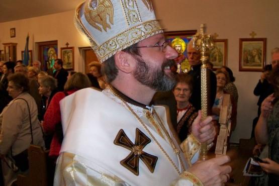 Patriarch Sviatoslav Shevchuk visited Ukrainian Immaculate Conception Byzantine Catholic Church in Palatine