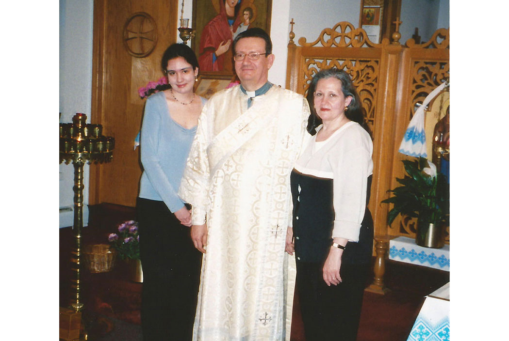 Priests at Immaculate Conception Ukrainian Greek Catholic Church