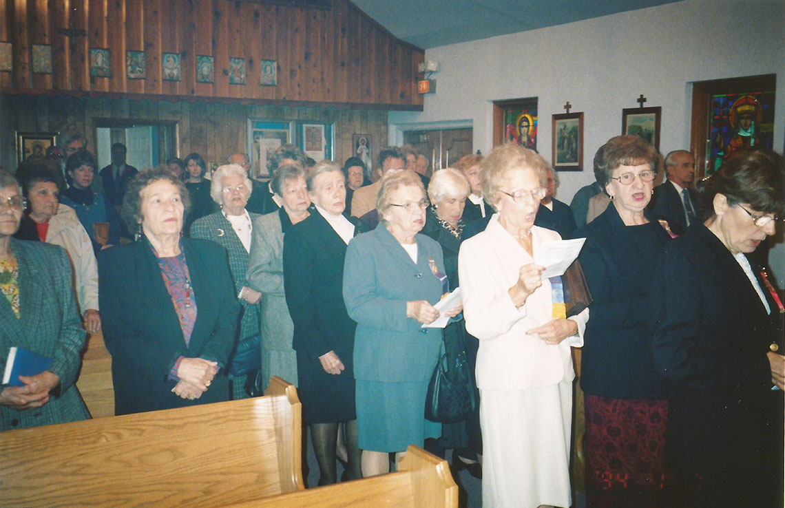 Sisterhood at IC Ukrainian Catholic Church in Palatine, Illinois