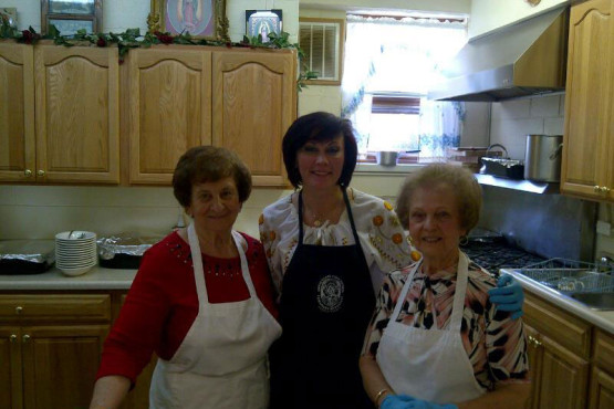 Kitchen Ladies at Ukrainian Immaculate Conception Catholic Church in Palatine