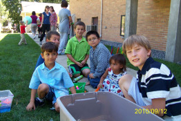 Children on Picnic in Ukrainian Immaculate Conception Catholic Church in Palatine