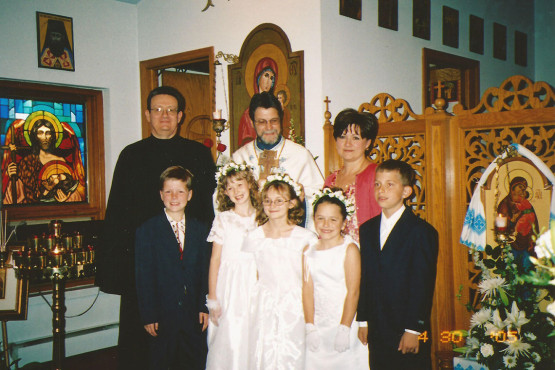 First Confession and Communion at Immaculate Conception Ukrainian Catholic Church in Palatine, IL