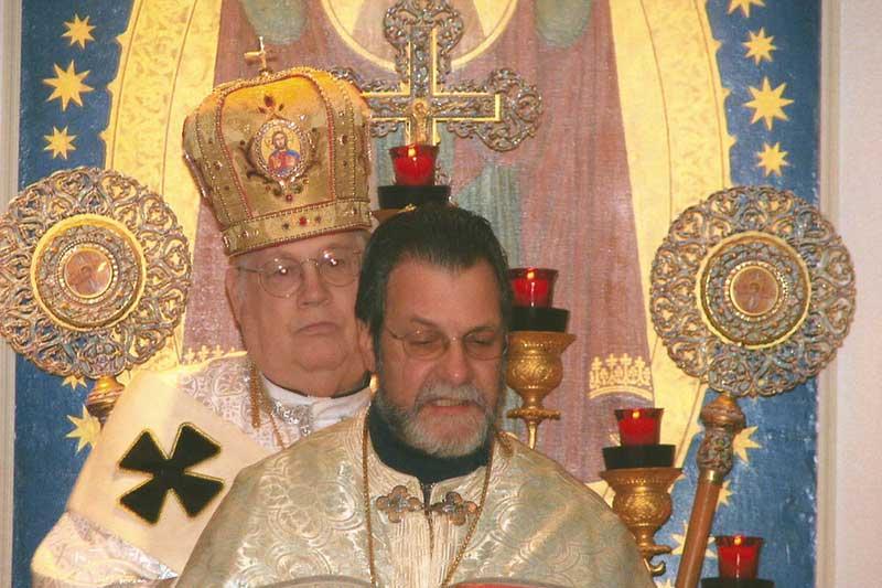 Bishop Richard at IC Ukrainian Church