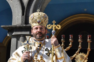 Major Archbishop Svatoslav Shevchuk, head of the Ukrainian Greek-Catholic Church