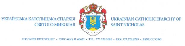 UKRAINIAN CATHOLIC EPARCHY OF SAINT NICHOLAS