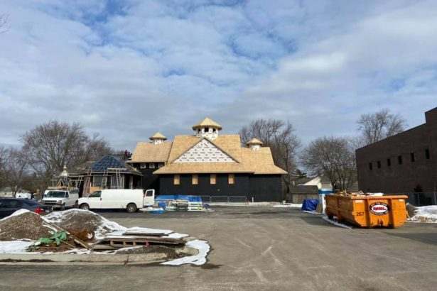 New Church Construction, February 8th 2020
