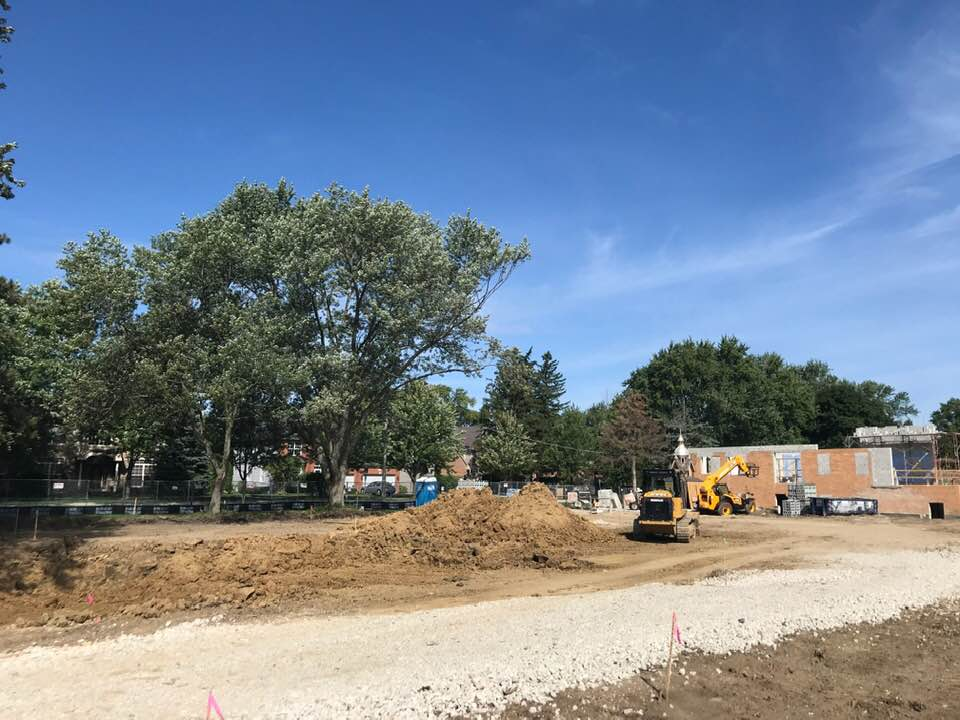 New Church Construction, August 27th 2019