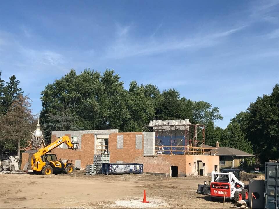 New Church Construction, August 31st 2019