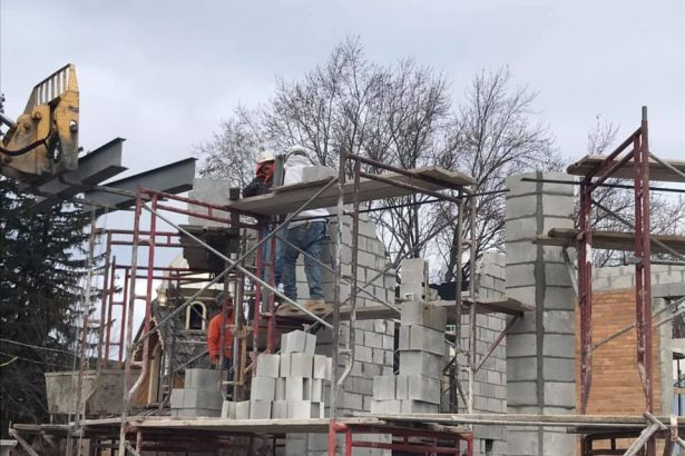 New Church Construction, December 6th 2019