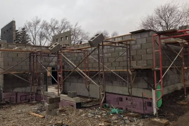 New Church Construction, November 27th 2019