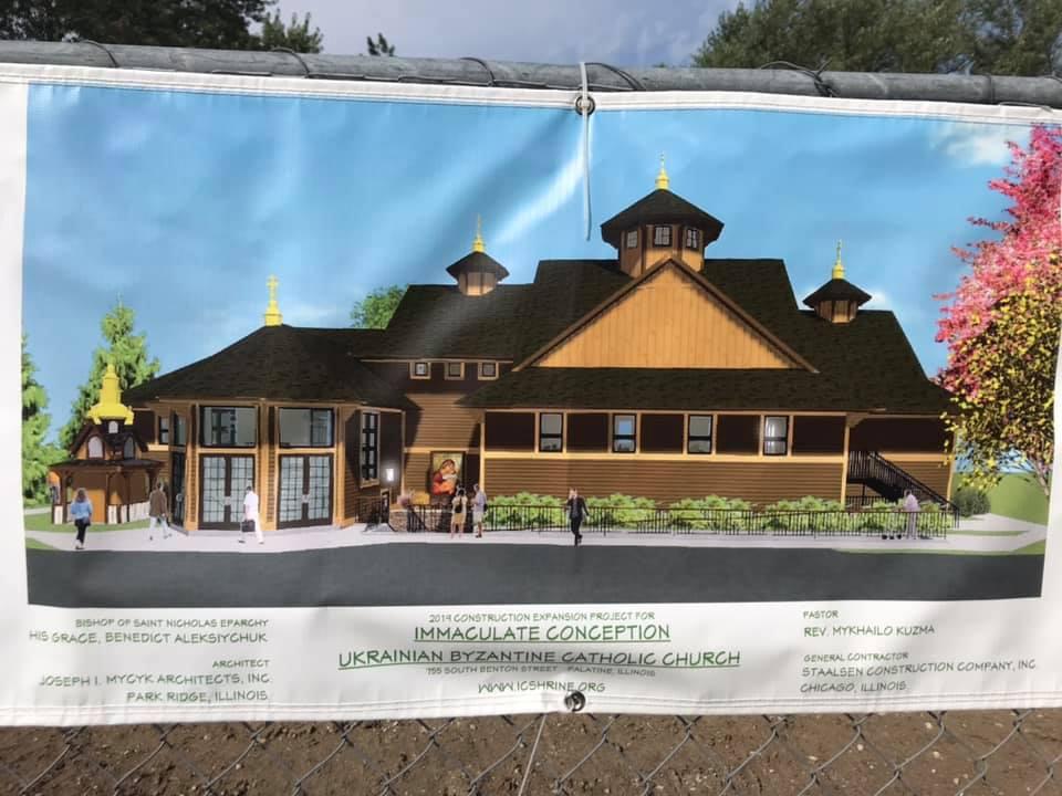 New Church Construction, September 7th 2019