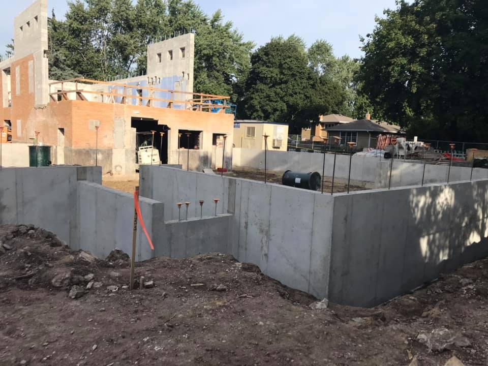 New Church Construction, September 19th 2019
