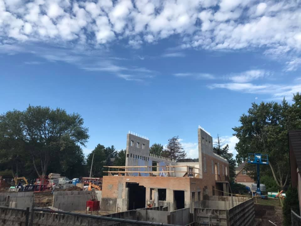 New Church Construction, September 19th 2019